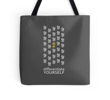 Differentiate Yourself (Dark Shirt) Tote Bag