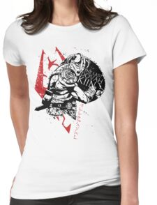 The Last Dovahkiin Womens Fitted T-Shirt
