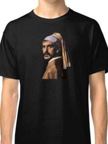 Frank Zappa - Girl with a Pearl Earring Classic T-Shirt