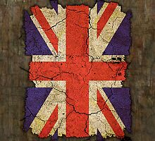 "Ragged Britannia ""Union Jack"" #2 iPad Case by Steve Crompton"