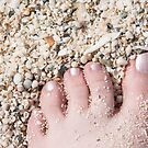 Seashells between her Toes by Kasia-D
