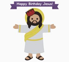 Happy Birthday Jesus! Christmas Gift Shirt One Piece - Short Sleeve