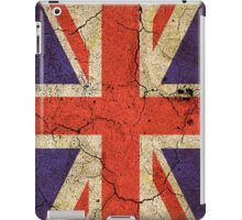 'Cracked Britannia' Union Jack Flag iPad Case/Skin