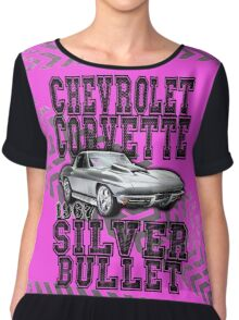 Chevrolet Corvette 1967 Silver Bullet Chiffon Top