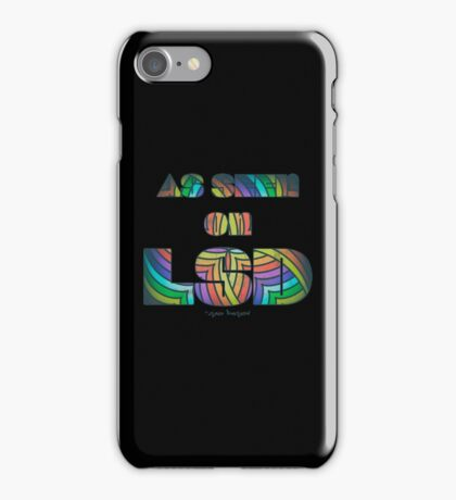 Retro Cool Party Psychedelic LSD Design  iPhone Case/Skin
