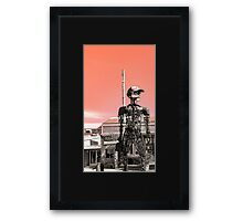 The Rusted Factory Framed Print