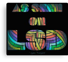 Retro Cool Party Psychedelic LSD Design  Canvas Print