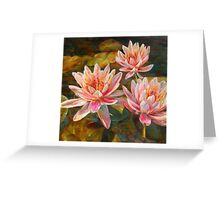 Pink Extravaganza by Chris Brandley Greeting Card