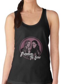 Lost Girl - Doccubus - Freedom To Love Women's Tank Top