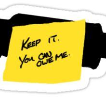 Keep the Grappler Sticker