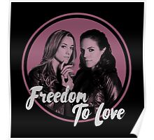 Lost Girl - Doccubus - Freedom To Love Poster