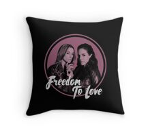 Lost Girl - Doccubus - Freedom To Love Throw Pillow
