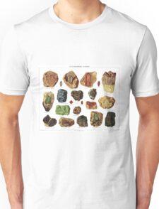Vintage Geology Gemstone Crystal Minerals Unisex T-Shirt