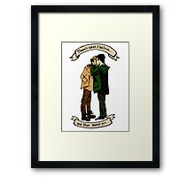 """""""There's What I Believe, and Then There's You"""" Framed Print"""