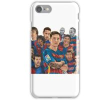 Barcelona legends iPhone Case/Skin