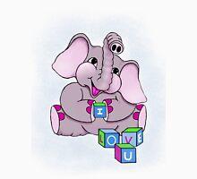 Elephant I Love U  Unisex T-Shirt