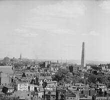 Vintage Photograph of Charlestown Massachusetts by BravuraMedia