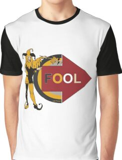 Funny jester comic prank Im with fool Graphic T-Shirt