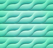 Retro geometric background by Patternalized