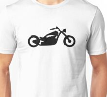 Chopper Motorcycle Unisex T-Shirt