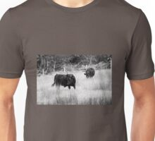 Cows black and white Unisex T-Shirt