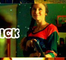 Crazy Chick with a Gun- Wynnona Earp Sticker