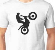 Motocross trial Unisex T-Shirt