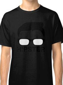Cool Retro Hipster Glasses Design Classic T-Shirt