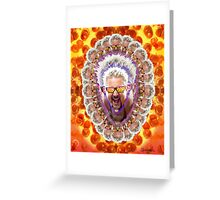 Guy Fieri's Bad Donkey Sauce Trip Greeting Card