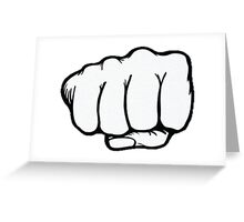 Punch Greeting Card
