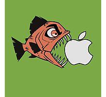 Piranha loves Apple Photographic Print