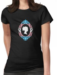 MtF (trans*) Victorian Cameo Womens Fitted T-Shirt