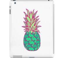 Colorful Pineapple iPad Case/Skin