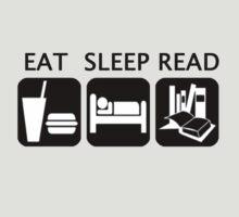 Eat, sleep, read by caramorgan