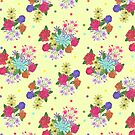 Floral [yellow] by Lydia Meiying