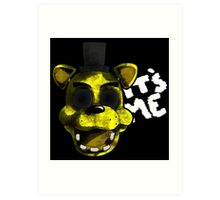 Golden Freddy Art Print