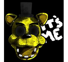 Golden Freddy Photographic Print