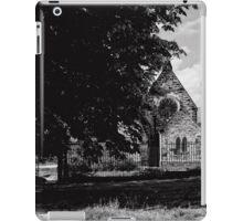 The back door iPad Case/Skin