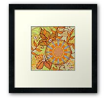 Autumn herbs Framed Print