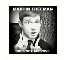 Martin Freeman Art Print