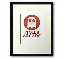 Pixel 8 Arcade Framed Print