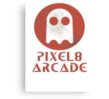 Pixel 8 Arcade Canvas Print