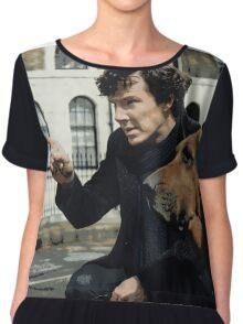 Sherlock 3 Chiffon Top