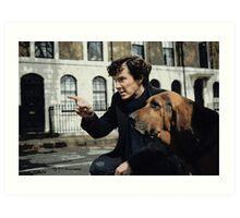 Sherlock 3 Art Print