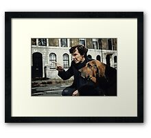 Sherlock 3 Framed Print