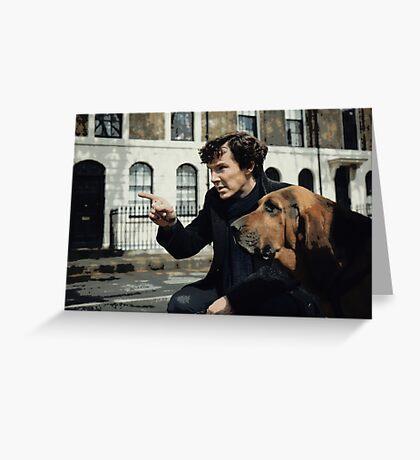 Sherlock 3 Greeting Card