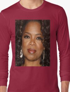 Oprah Close Up Long Sleeve T-Shirt