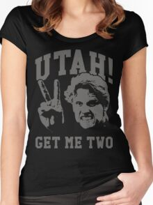 Utah Get Me Two Women's Fitted Scoop T-Shirt