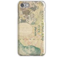 Bank of England Note  If you like, please purchase an item, thanks iPhone Case/Skin