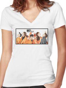 GOT7 Women's Fitted V-Neck T-Shirt